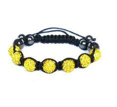 Shamballa Bracelet Cz Crystal Yellow Disco Ball 7 * 10 Mm Clay Beads dream jewelry 2012. Save 58 Off!. $3.66. SHAMBALLA BRACELET CZ CRYSTAL yellow DISCO BALL 7 * 10 mm CLAY BEADS Disco Ball, Clay Beads, Girls Best Friend, Jewelry Bracelets, Crystals, Yellow, Link, Crystal, Crystals Minerals
