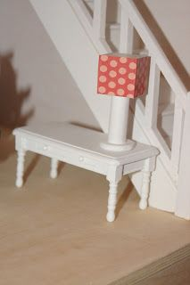 My Historic Country Home - DIY Dollhouse Lamps & Living Room Furniture