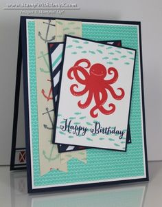 Stampin' Up! Sea Street - Stamp With Amy K