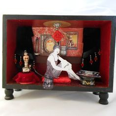 Image result for assemblage, opium