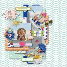 """Seventy Two and Sunny by Laurie Ann Designs http://the-lilypad.com/store/Laurie-Ann-HGD/   Template """"Parts of life 2."""" by Tinci Designs http://scrapstacks.com/shop/Tinci-Designs/"""