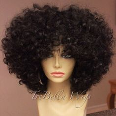 I made this beauty for myself yesterday and its too short for me. It hits right above my shoulders (I'm 5'7) and I need it longer for the style I'm trying to create. Hopefully she can find a good home. TreBella full unit. Specs: Akuwa's Hair Affair 100% raw South American medium coarse Luxe curl 2. I did not add any styling products to this hair. It has ONLY been washed, conditioned and air dried. This is 12/12/14 inch. Only about 1/2 of the 14in was used. She's up on the site if anyone is…