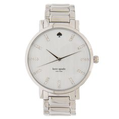 KATE SPADE NEW YORK - Relógio Kate Spade gramercy cristal - prata