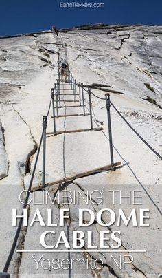 Climbing Half Dome C