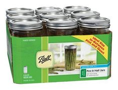 Ball Mason Jar 112 Pint  24 Oz  Wide Mouth 9  Box >>> To view further for this item, visit the affiliate link Amazon.com.