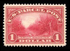 Gary Posner, Inc. has this item on Collectors Corner - Scott# Q12, 1913 $1 Carmine rose, PSE XF-Sup 95, Mint OGnh
