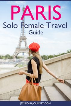 This ultimate guide to solo female travel in Paris takes you beyond your guidebook to share unique things to do when visiting the capital of France on your own. Honestly, traveling to Paris alone can be incredibly fun , as you'll see in this post. // #SoloFemaleTravel #SoloTravel #Paris