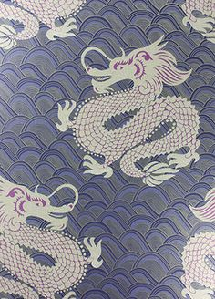 Celestial Dragon wallpaper from Osborne & Little - W6545-03