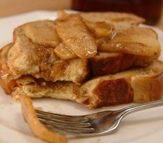 Healthy apple cinnamon French Toast Recipe