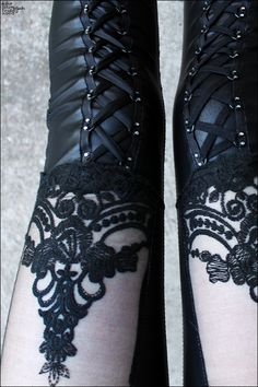 stockings and gloves like this