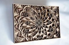 Laser-Cut Wooden Sculptures by Gabriel Schama | Inspiration Grid | Design Inspiration