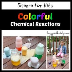 Science for Kids: Chemical Reactions Using Baking Soda and Vinegar - Buggy and Buddy