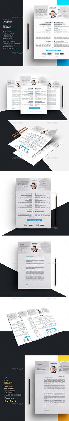 17 Amazing Examples Of CV\/Resume Design \ Creativity Behance - paper for resume