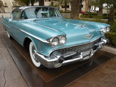 1958 CADILLAC COUPE 2DR HT