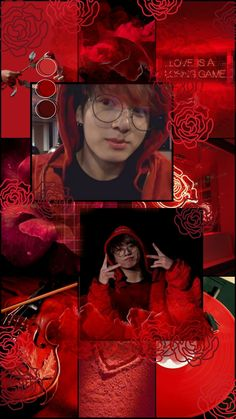 Valentines Design, Red Wallpaper, My Side, Red Aesthetic, Red Background, Bts Pictures, Bts Jungkook, Layout Design, Wall Decals