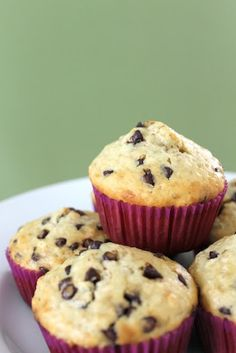 Tasty Tuesday: Oatmeal Chocolate Chip Muffins | Domestic Adventure