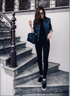 99 Perfect Fall Fashion Outfits Ideas To Copy Right Now Black fall outfits