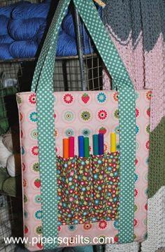 Free Pattern: Handmade Holidays #2- Art Bags for Little Ones « Pipersgirls's Weblog