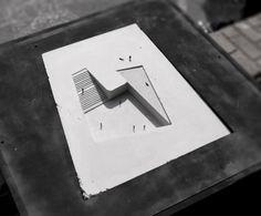 """modelarchitecture: """" Propuesta para el Museo Regional de Atacama / David Rodriguez Arquitectos + Combeau De Iruarrizaga Arquitectos """""""