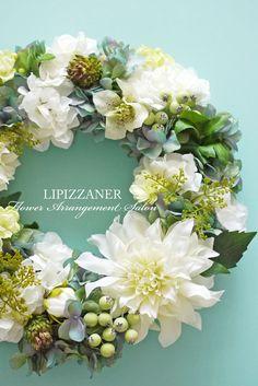 ディプロマコース Wreath (Basic) No.8 | LIPIZZANER Flower Arrangement Salon