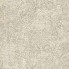 """Found it at Wayfair - Oxford Cartography Vintage World Map 33' x 20.5"""" Abstract 3D Embossed Wallpaper"""