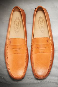 Classic Tod's loafers finish off any outfit perfectly.....can't get enuff of Tod's for men or women.