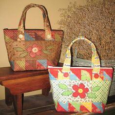 Charm Packs - cute tote bags