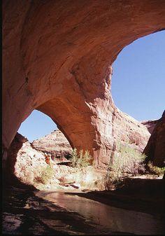 The famous Jacob Hamblin Arch, aka Lobo Arch in Coyote Gulch, Utah....again