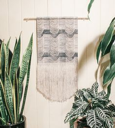 WAVE FRINGE WALL HANGING by Julia Canright on Scoutmob