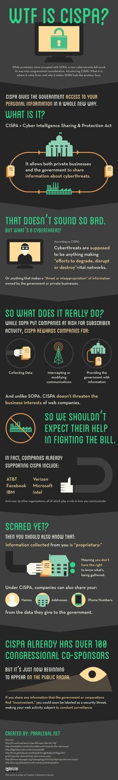 Why CISPA is so much more dangerous than SOPA, and why you're not hearing about it.