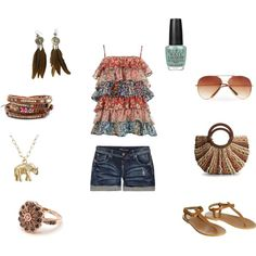 Indie Summer, created by anne-poling on Polyvore