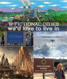 12 Fictional Cities from TV and Movies We'd Love to Live in