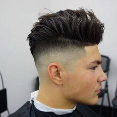 2016 Men's Hairstyles - High Skin Fade + Longer Hair On Top