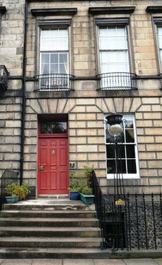 Robert Louis Stevenson's childhood house in Edinburgh, Heriot Row n°17