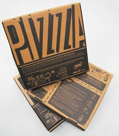Working at Blacksheep i had the opportunity to create the new take away packaging for Primi Piatti.The packaging was created out of recycled and bio degradeable paper, with a built in grease-proof lining on the inside ensuring the packaging maintai… Cool Packaging, Food Packaging Design, Brand Packaging, Branding Design, Pizza Branding, Pizza Logo, Design Café, Menu Design, Graphic Design