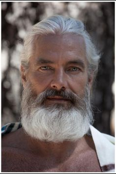 I don't know who this guy is, but he looks like a bible character I might meet…