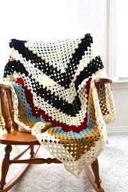 Sans Limites Crochet: The Granny Square Blanket DIY
