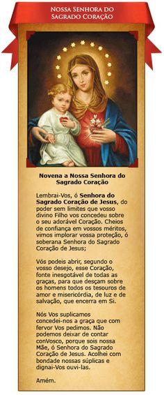 Novena a Nossa Senhora do Sagrado Coração de Jesus