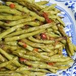 Pioneer Woman Green Beans - seriously delicious