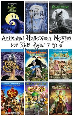 Animated Halloween movies for kids aged 7 to 9 halloween movies 27 Family-Friendly Animated Movies for Halloween Animated Halloween Movies, Halloween Disney Movies, Halloween Movie Night, Animated Movies For Kids, Halloween Quotes, Halloween Snacks, Halloween Pictures, Halloween Party, Holiday Movies