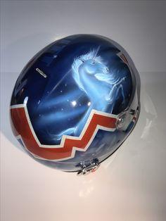 28ebabedd161 Unicorn theme custom airbrush race helmet we just finished! Custom orders  available !