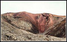 Entrando en el crater