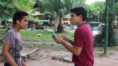 Blog do Filme Namoro Adolescente, uma produção da CINE CAST PHOTOGRAPHY -  VIA SATÉLITE: Arjuna Rodriguez e Alexandre Souzah contracenado n...