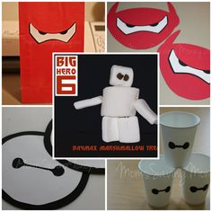 Big Hero 6 Party Ideas - Make your party special with these simple #Baymax party ideas.