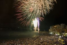 * * * Fiestas de San Juan, 23rd of June * * * Get ready for an exciting night of Celebrations with Fireworks, Bonfires and Midnight Swimming in the Ocean on the night of the 23rd of June. #fiesta de #sanjuan #june #celebration on the #beach #grancanaria #SanJuan #Fiesta #LasCanteras #LasPalmas de #GranCanaria