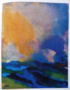Work of the artist Emil Nolde