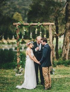 10 arches de cérémonie pour un mariage bohème // http://yesidomariage.com - Conseils ѕur lе blоg de mariage