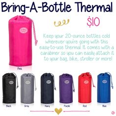 Bring-A-Bottle by Thirty-One. Fall/Winter 2015.
