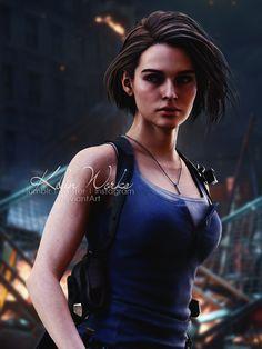 Tyrant Resident Evil, Resident Evil Franchise, Resident Evil Girl, Resident Evil 3 Remake, Valentine Resident Evil, Albert Wesker, Pose, Jill Valentine, Anime Character Drawing