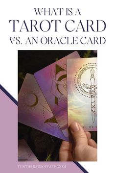 One of the most frequent questions I get asked if what is the difference of tarot vs oracle cards. The answer is, it depends! In this blog post I'll share a little bit more about the two. #tarot #oracle Some Cards, Deck Of Cards, Tarot Cards For Beginners, Tarot Card Spreads, Oracle Tarot, Tarot Card Meanings, Major Arcana, Spiritual Guidance, Tarot Decks
